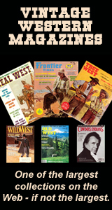 Vintage western magazines for sale.
