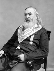 Confederate Brigadier General Albert Pike