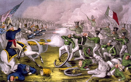 What was the cause of the Americans attacking the Mexicans?