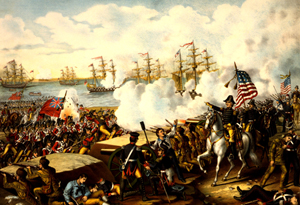 Battle of New Orleans during the War of 1812