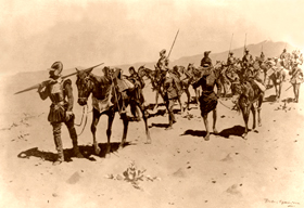 Coronado's March by Frederic Remington, 1897
