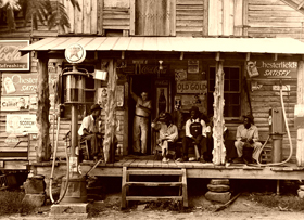 A country store in the east, 1939.
