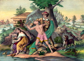 Daniel Boone protects his family