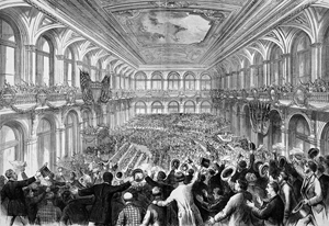 1876 Democratic Convention, St. Louis, Missouri