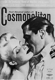 Gerald Ford on the cover of Cosmopolitan magazine