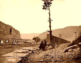 Harper's Ferry Arsenal Ruins, West Virginia, 1862