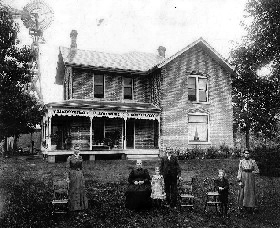 Homestead in Hunterstown, Indiana