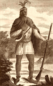 Wampanoag Chief Metacom, also called King Philip