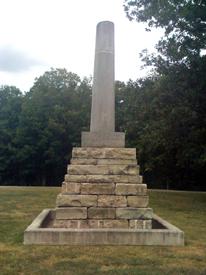 Meriwether Lewis Monument.
