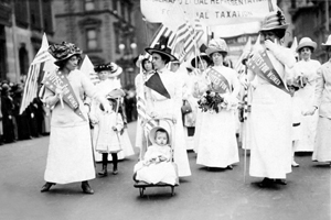 Suffrage Parade, New York City, 1912
