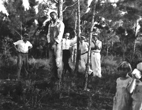 Rubin Stacy is hanged in Florida in 1935