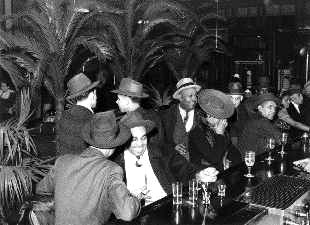 Speakeasy of the Prohibition Era