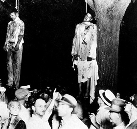 Thomas Shipp and Abram Smith are hanged in Marion, Indiana on August 7, 1930