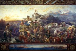 Westward the Course of Empire Takes Its Way, Emanuel Leutze, 1861