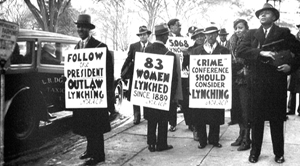 Anti-lynching Protest