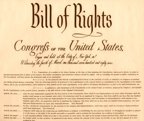 Bill of rights ordinance