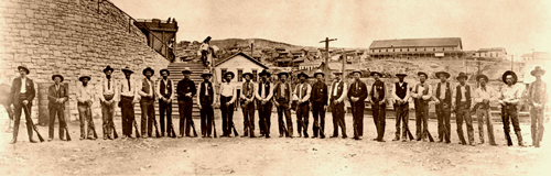 Arizona Rangers in 1903