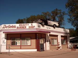 Desoto's Beauty, Barber and Gift Shop in Ashfork, Arizona