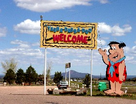 Bedrock City at Valle, Arizona