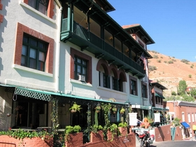 The Copper Queen Hotel, Bisbee Arizona. Photo by Neil Peart