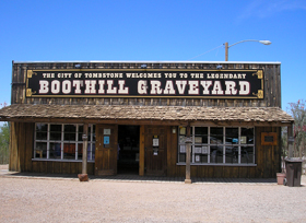 Boot Hill Graveyard Today, Tombstone, Arizona