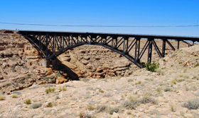 Canyon Diablo, Arizona Bridge