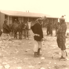 Canyon Diablo Navajo Trading Post in 1903
