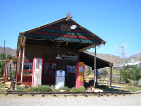 Gas Station in Chloride, Arizona