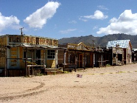Chloride, Arizona old town