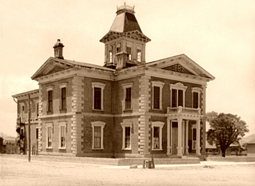 Cochise County Courthouse in Tombstone, 1940