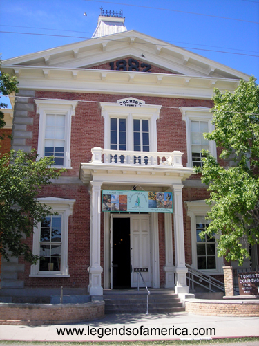 The Cochise County Courthouse in Tombstone, Arizona