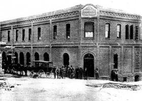 The Connor Hotel in Jerome, Arizona in 1899