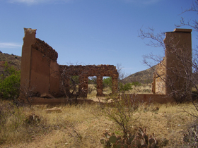 Ruins in Courtland, Arizona