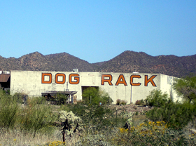 Dog Rack in Black Canyon, Arizona