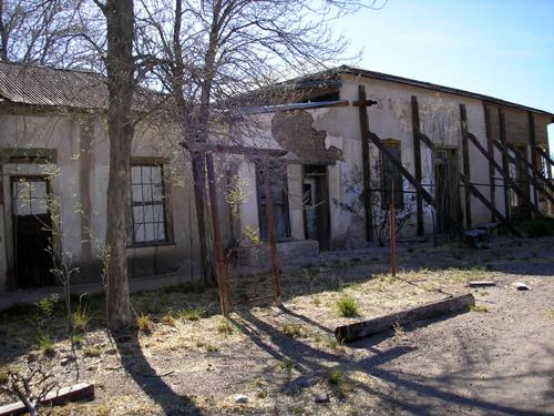 Fairbank arizona for Building an adobe house