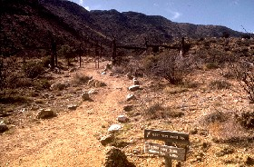 Fort Bowie Trail.