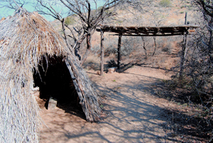 Apache Wickiup at Fort Bowie, Arizona