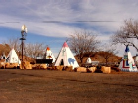 Geronimo Trading Post just outside Holbrook, Arizona