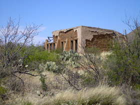 Unidentified building in Gleeson, Arizona