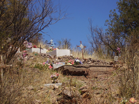 Harshaw, Arizona Cemetery