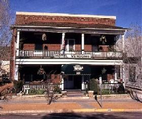 Hotel Vendome in Prescott, Arizona