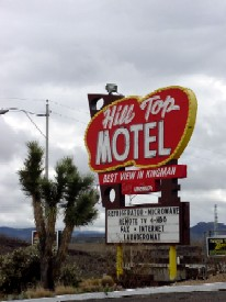 Hill Top Motel on Route 66 in Kingman, Arizona
