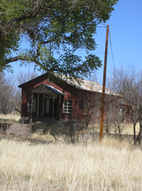 Lochiel, Arizona one-room schoolhouse