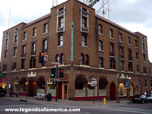 Haunted Monte Vista Hotel In Flagstaff Arizona