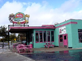 Mr. D's Route 66 Diner in Kingman, Arizona