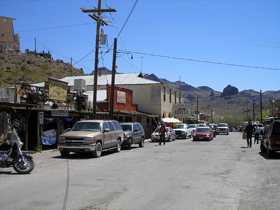 Oatman Arizona Main Street
