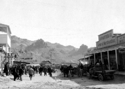Oatman Arizona, 1900