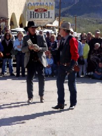 Gunfight in Oatman, Arizona