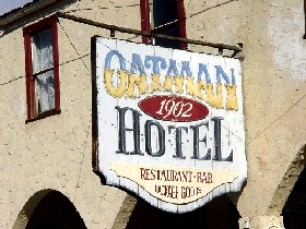 Oatman Hotel Sign