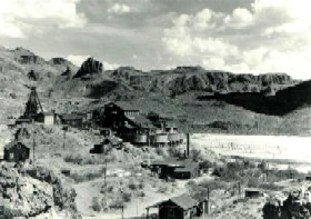 tom Reed Goldmine in Oatman Arizona